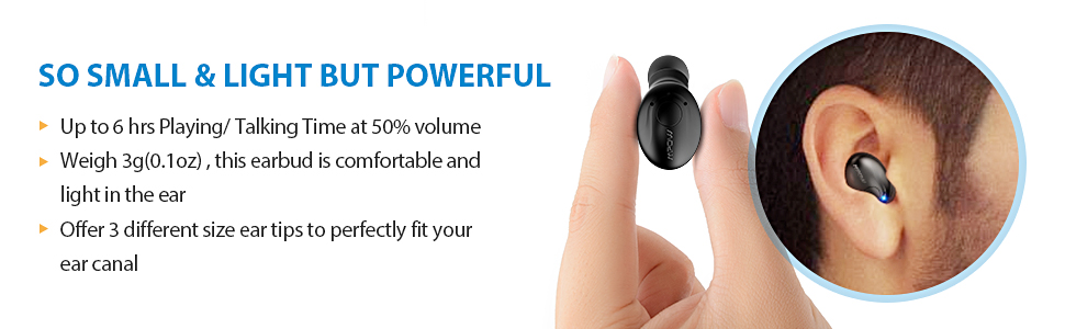 Epow Em1 Bluetooth Earpiece