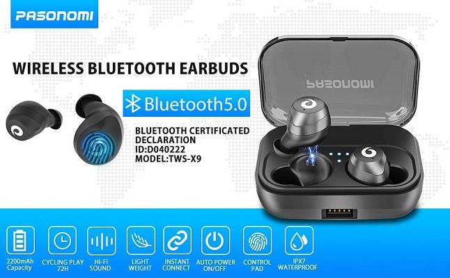 PASONOMI X9 True Wireless earbuds