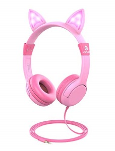 iClever Kids Headphones with LED Backlight