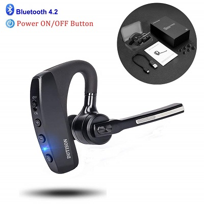 DUTISON Bluetooth Headset V4.2