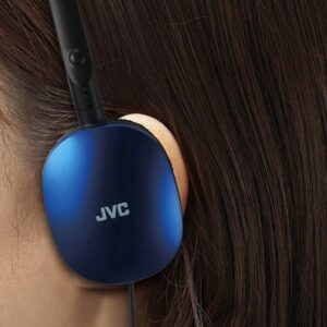 JVC Violet Flat and Foldable