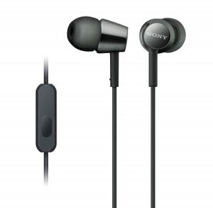 Sony Earbuds with Microphone,