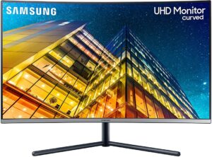 Wide Screen Samsung Computer Monitor