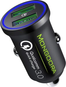 Metal Car Charger by MONGOORA -